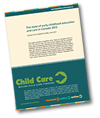 Moving child care forward policy brief cover